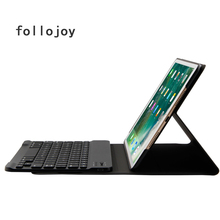 купить High-Quality  Litchi PU Leather Cover For Apple ipad pro 10.5 inch A1701/ A1709 Bluetooth Keyboard Tablet Case business travel дешево