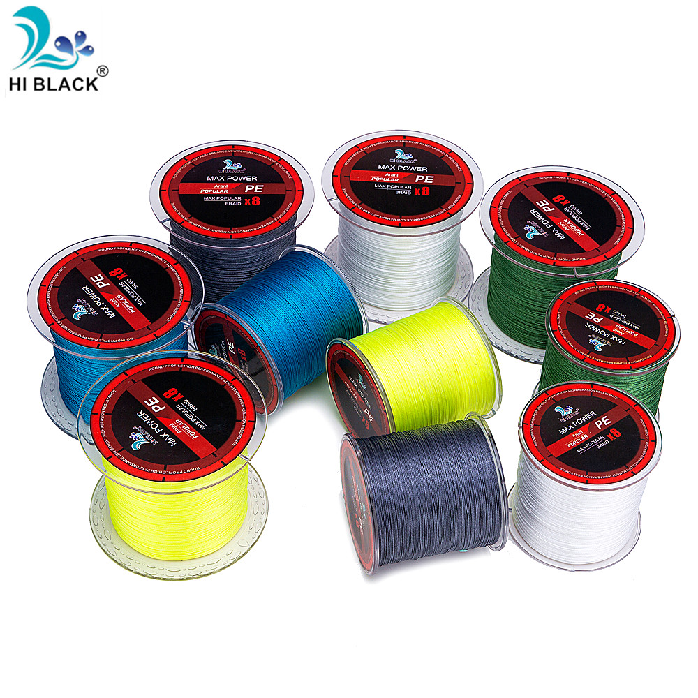 300M 500M 1000M 8 Strands 16LB 120LB Braided Fishing Line PE Multifilament Fishing Line for Carp Fishing Wire for All Fishing in Fishing Lines from Sports Entertainment