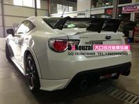 Toyota gt86 brz frs zele 탄소 섬유 리어 스포일러 리어 윙에 적합
