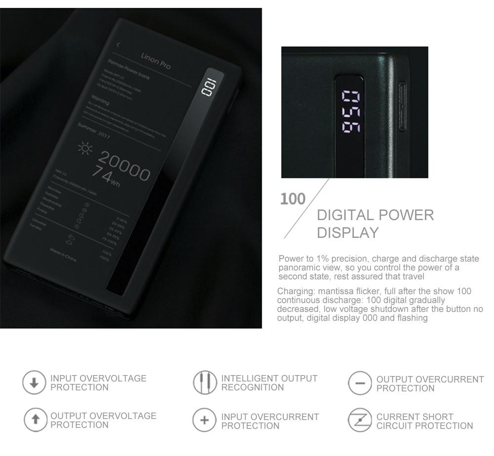 remax 20000mah power