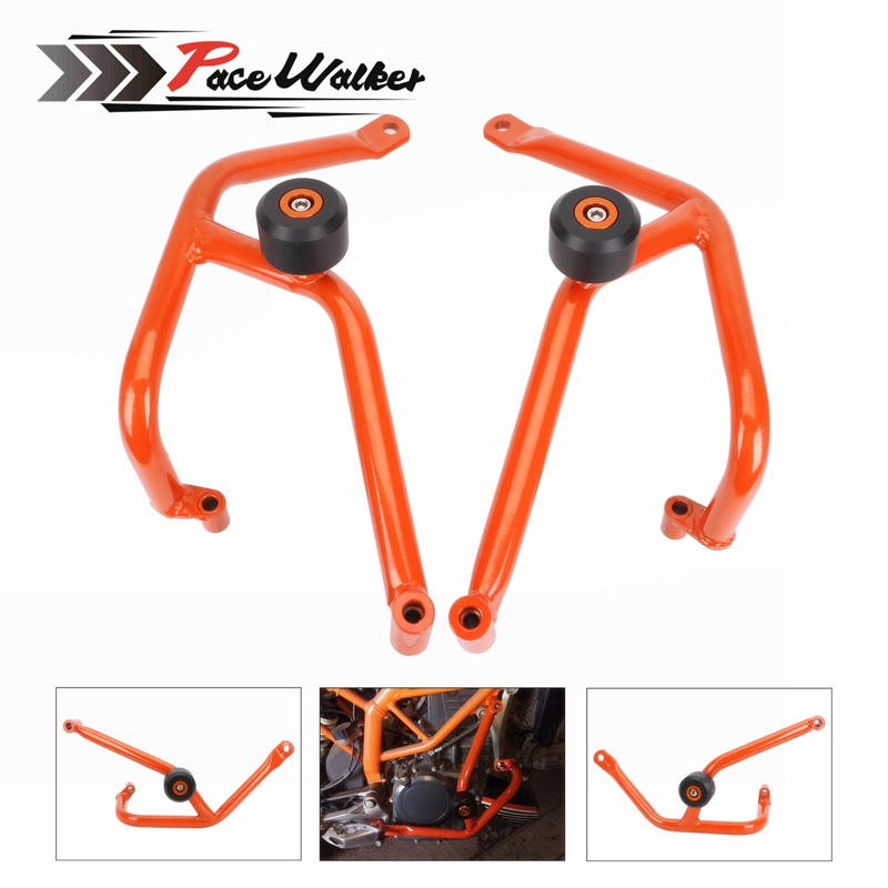 Motorcycle Accessories Engine Protetive Guard Crash Bar Protector For KTM DUKE 200 DUKE200 2013 2014 2015 2016 for ktm duke 390 rc390 2013 2017 duke 200 rc200 2014 2016 duke 200 rc125 2014 2017 motorcycle cnc aluminum brake clutch levers