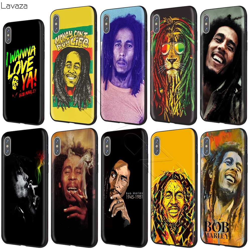 Lavaza BOB Marley สำหรับ iPhone 11 Pro XS MAX XR X 8 7 6 6S PLUS 5 5 S SE