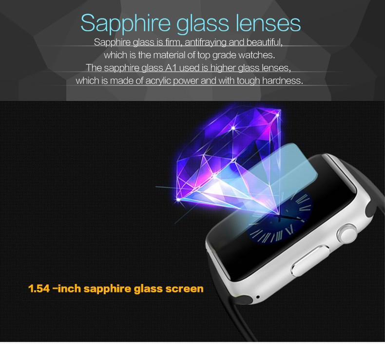 A1 WristWatch Bluetooth Smart Watch 0048