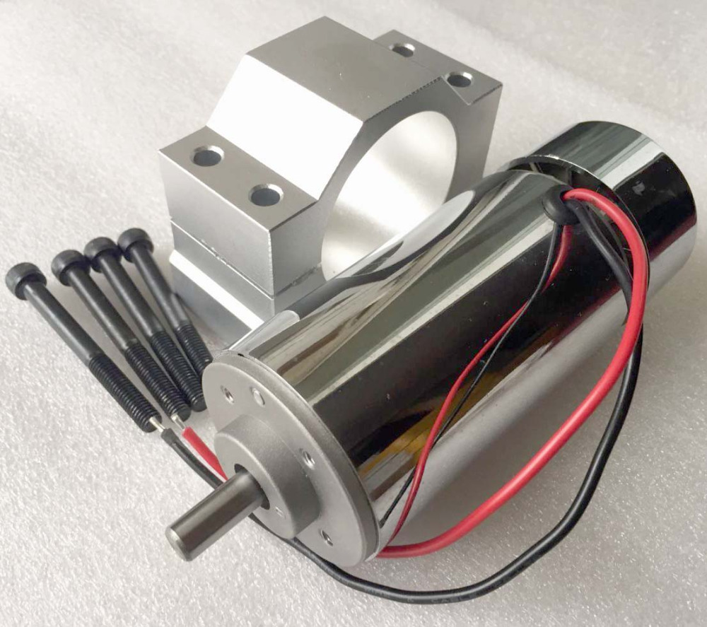 Best high torque 300w dc high speed spindle motor 12 48v for High speed high torque electric motor