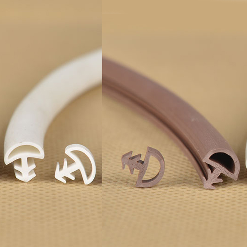 5M PVC wooden door window sash seal bumper strip weatherstrip sound insulation