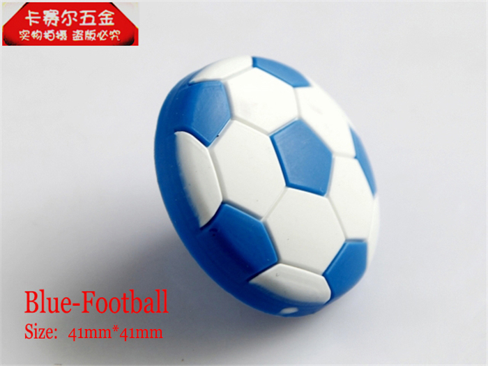 Cartoon Door Handle Knob Football Children\'s Room Handle Modern ...