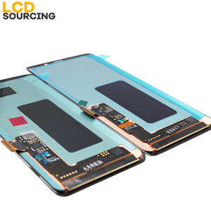 Image 4 - AMOLED LCD Display For SAMSUNG Galaxy S9 LCD G960F Touch Screen Digitizer Assembly + Frame For S9 Plus Display G965 Replacement