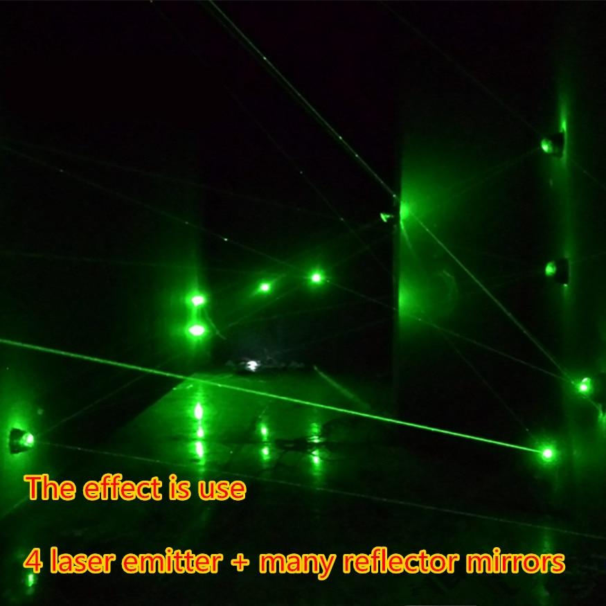 DIY KITS Laser sensor alarm laser warning equipment suite The chamber of secrets escape green laser