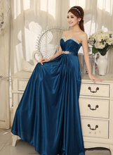 2017 Long Prom Dresses Sweetheart Sexy Party Gowns Chiffon Formal Bridesmaid Dress