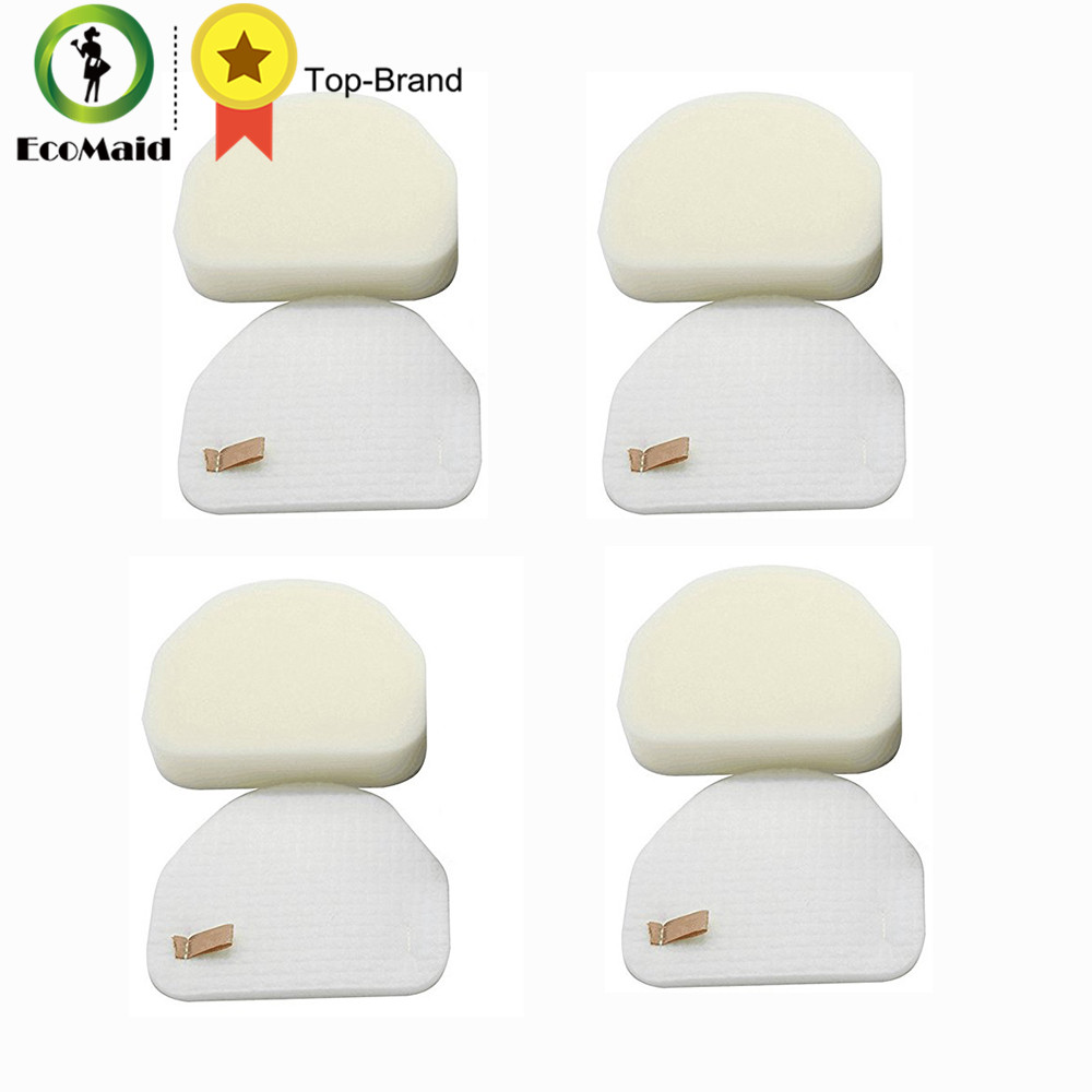 Replacement Foam Felt Filter for Shark NV450 NV480 Vacuum Cleaner Compatible Foam and Felt Filter Kit Part XFF450 4 Packs kitpag02363pag82027 value kit procter amp gamble professional floor and all purpose cleaner pag02363 and mr clean magic eraser foam pad pag82027