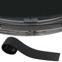 Car stickers car styling rear bumper Rubber strip for Mini cooper countryman clubman R55 R56 R57 R58 R59 R60 R61 accessories