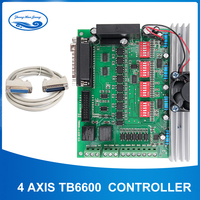 TB6600 4 axis cnc controller 4 axis stepper motor driver DSP controlled Replaced by TB6560 for MACH3 I005B
