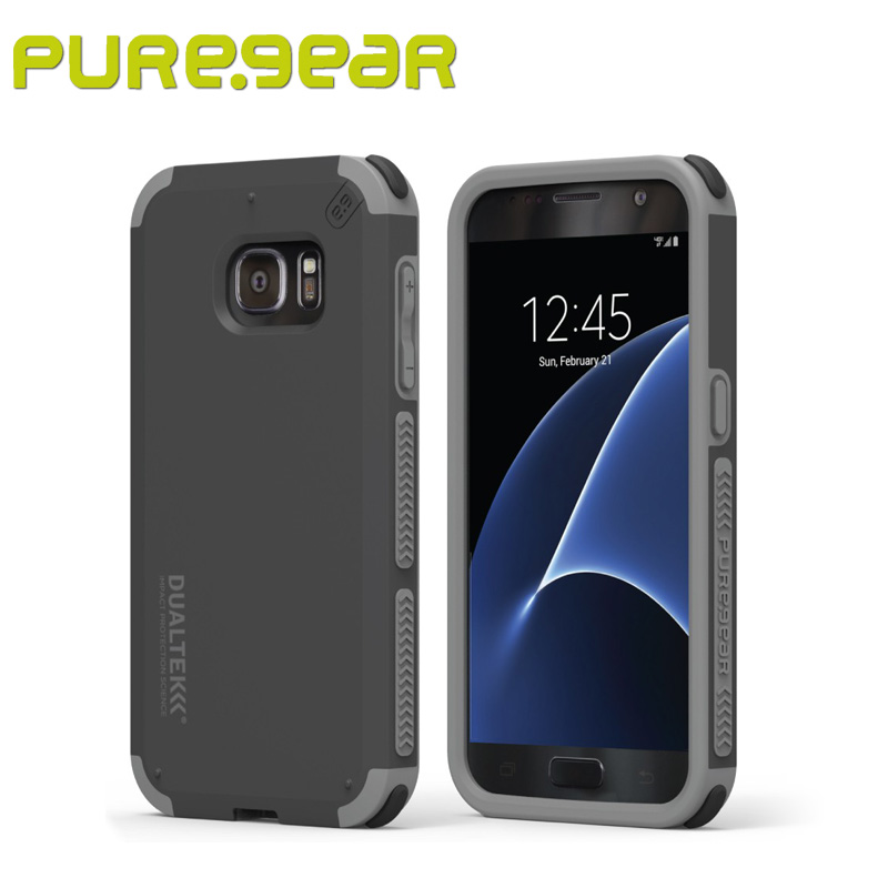 Puregear Premium Outdoor Anti Shock DualTek Extreme Shock Case for Samsung Galaxy S7 with Retail Packaging