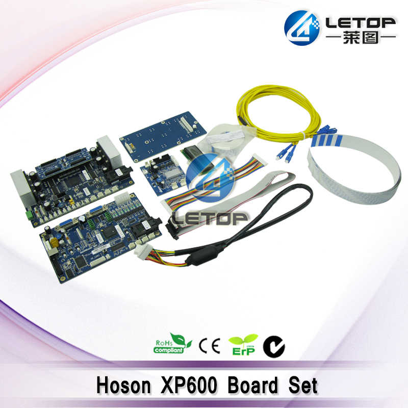 Double XP600 Printhead Hoson Papan untuk Eco Pelarut Printer