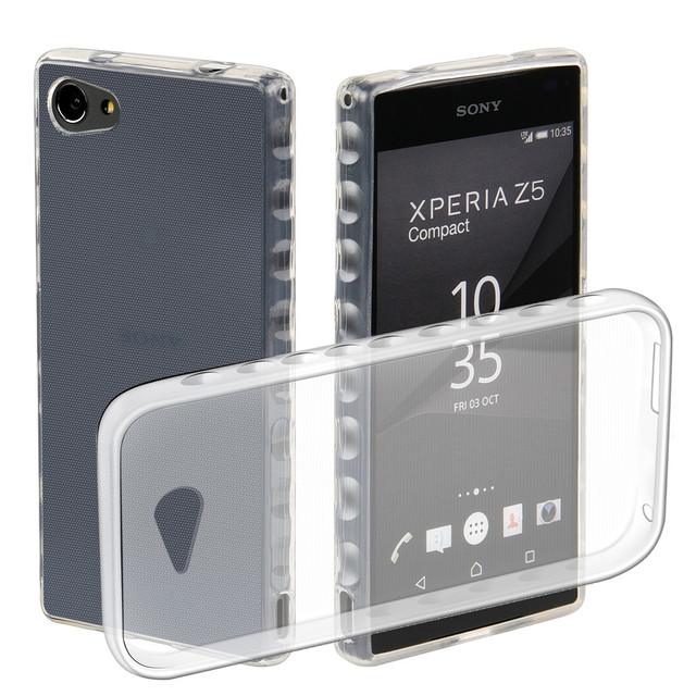 check out c7360 083a6 US $2.99 |Soft Cases For Sony Xperia Z5 Compact Z5Compact LTE E5803 S50  E5823 SO 02H back cover for coque sony Xperia Z5 Compact case-in  Half-wrapped ...