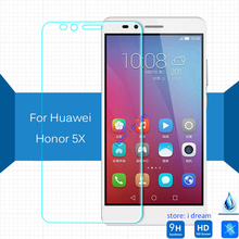 For Huawei gr5 Honor 5X tempered Glass 5.5'' screen protector safety on Honor5X Glory Play 5 X KIW-AL00 KIW-L24 KIW-L23