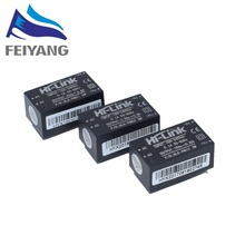 10 unids/lote HLK PM01 HLK PM03 HLK PM12 220V a 5V mini módulo de fuente de alimentación, interruptor inteligente para el hogar módulo de fuente de alimentación