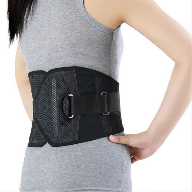 Orthopedic Back Support Belt Waist Brace Faja Lumbar Cinta Abdominal Corset Corrector Fashion Belts AFT-Y201