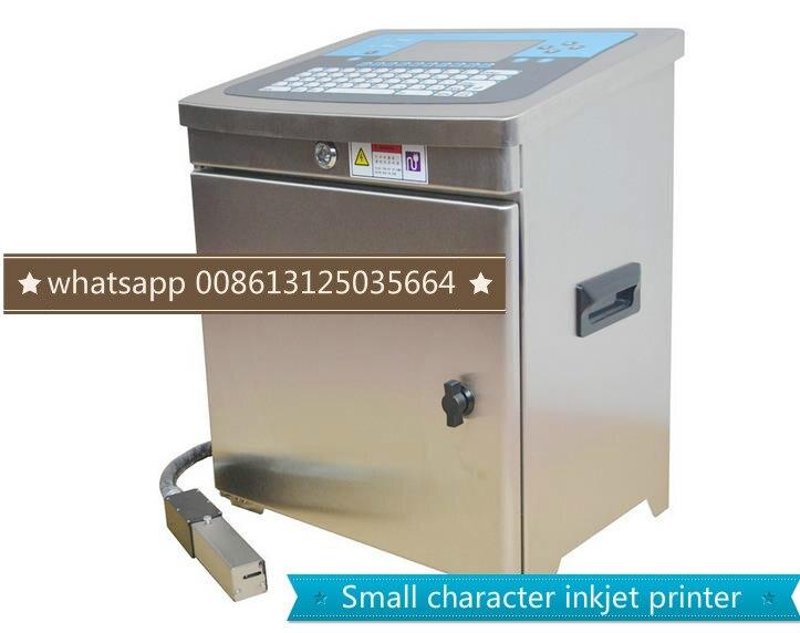 Date numéro de série imprimante à jet d'encre industrielle fabricants de traceur de codage automatique de petit caractère