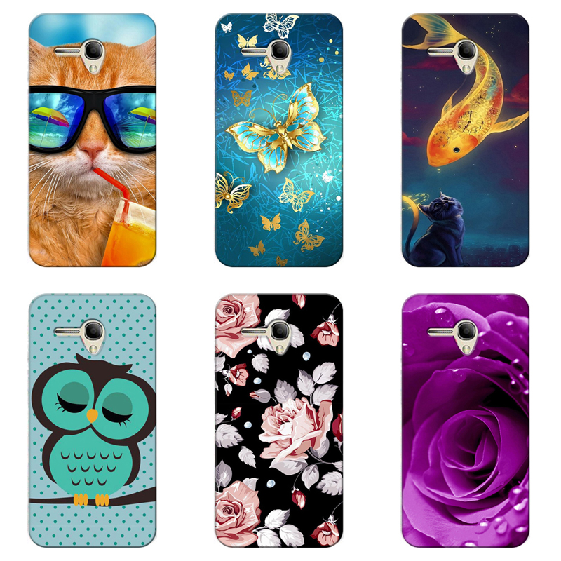 Cellphones & Telecommunications 100% Quality 2018 Case For Alcatel Pop Up 6044d Business Leather Cover For Alcatel One Touch Pop 3 5054d Shell Cover