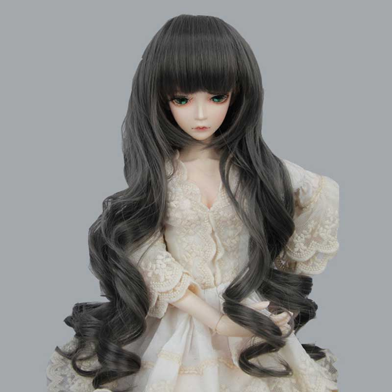 2015 Hot Sale BJD SD Doll Wigs Hair High Temperature Long Curly Doll Wig 1/3