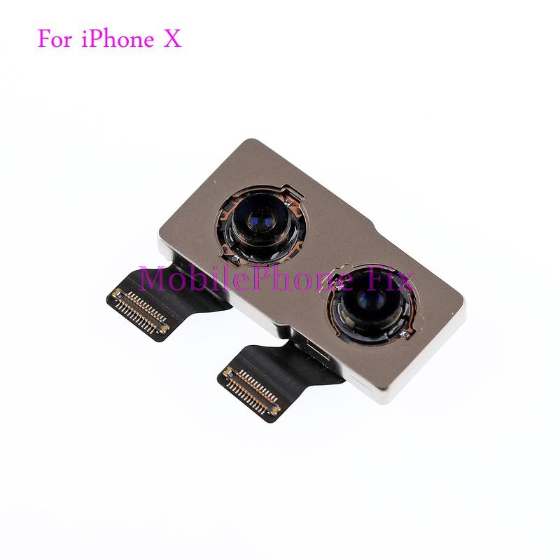 For iPhone X  Main Rear Back Camera Module Flex Cable For iPhone 10 Ten Big Cam Replacement Repair PartsFor iPhone X  Main Rear Back Camera Module Flex Cable For iPhone 10 Ten Big Cam Replacement Repair Parts
