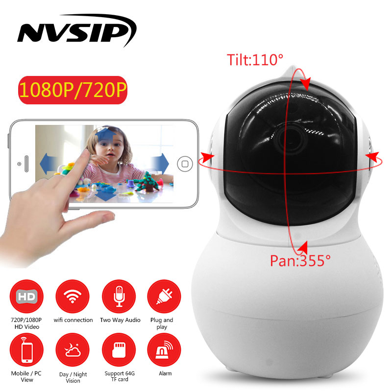 720P/1080P Home Security IP Camera Wireless Smart WiFi Camera WI-FI Audio Record Surveillance Baby Monitor HD Mini CCTV Camera home security ip camera wireless smart wifi audio record surveillance baby monitor hd 720 1080p mini camera intenergic