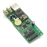 HC 3W RGB LED video Text picture LED control card HC 3SW support P3 P4 P5mm P6 P7.62 P8 P10mm LED module