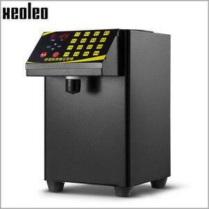 Image 5 - XEOLEO 버블 티 설탕 디스펜서 9L Fructose 정량 machine16 그리드 자동 Fructose 기계 시럽 디스펜서