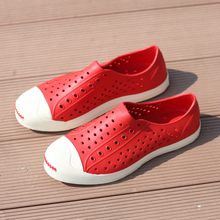 2017 Fashion Lovers Hole Shoe Men Native Jefferson Shoes Sandals Brand Flat Casual Native Summer Shoes