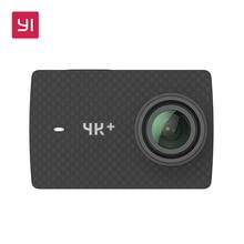 """Yi 4 К + (плюс) Действие Камера набор международных Издание Первого 4 К/60fps Амба H2 SOC Cortex-A53 IMX377 12MP CMOS 2.2 """"НРС Оперативная память EIS WI-FI"""