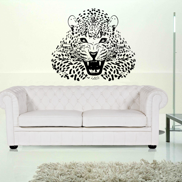 Vinyl Wall Stickers Animal Cheetah Leopard Panther Removable Wall