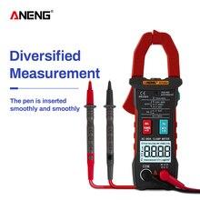 ANENG ST204 клещи 4000 отсчетов Авто Цифровой DC/AC Ток Напряжение зажим аналоговый мультиметр True Rms pinza amperimetrica