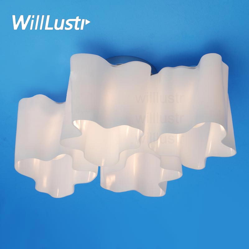 Logical Lounge living modern ceiling lamp twist frosted milky glass shade white cloud lighting quadruple nested light 1 3 4 6 white glass ceiling lamp modern design frosted glass shade light home collection lighting bedroom foyer doorway cloud lights