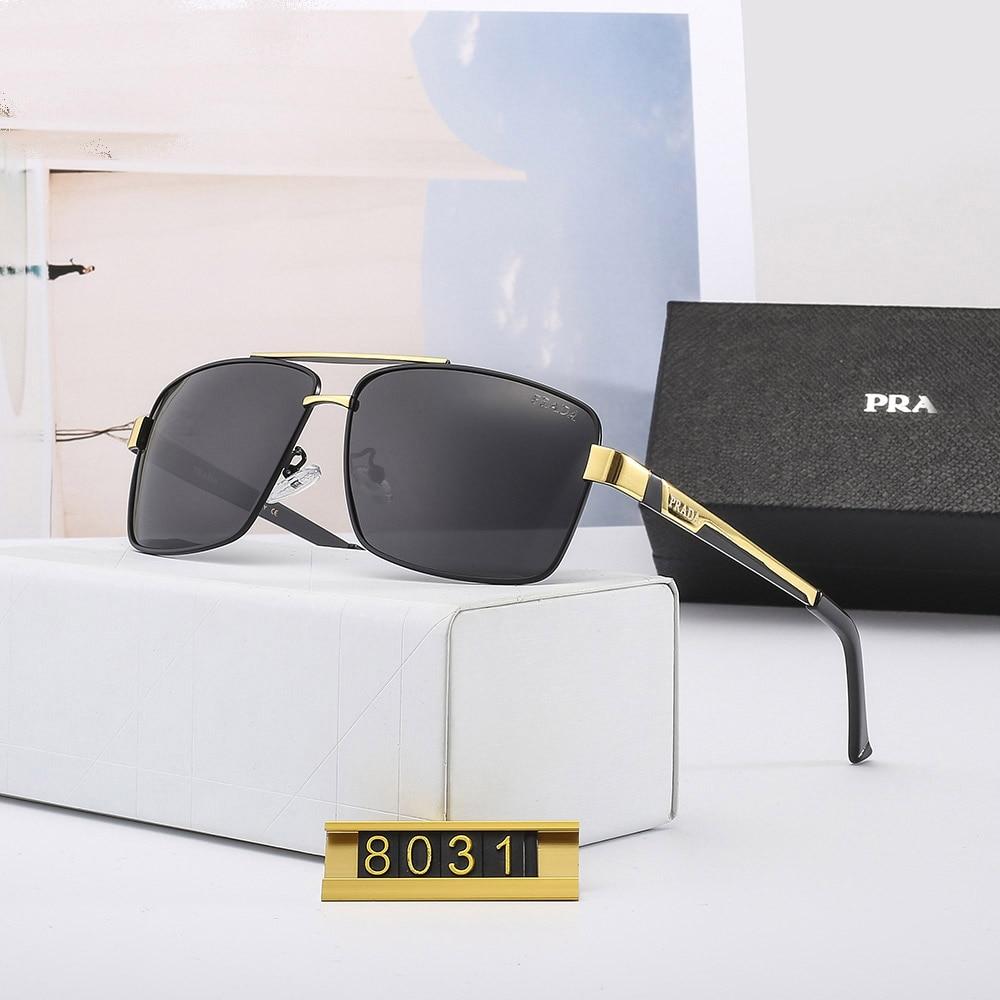 POLICE Classic Men Polarized Sunglasses Men Brand Design Driving Sunglasses Men metal Frame UV400 Glasses Outdoor mirror