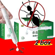 2 tube Ant bait Killing Ants Killer Medicine Gel Bait Poison Trap Non-toxic Effects Insecticide Stop Pest Control