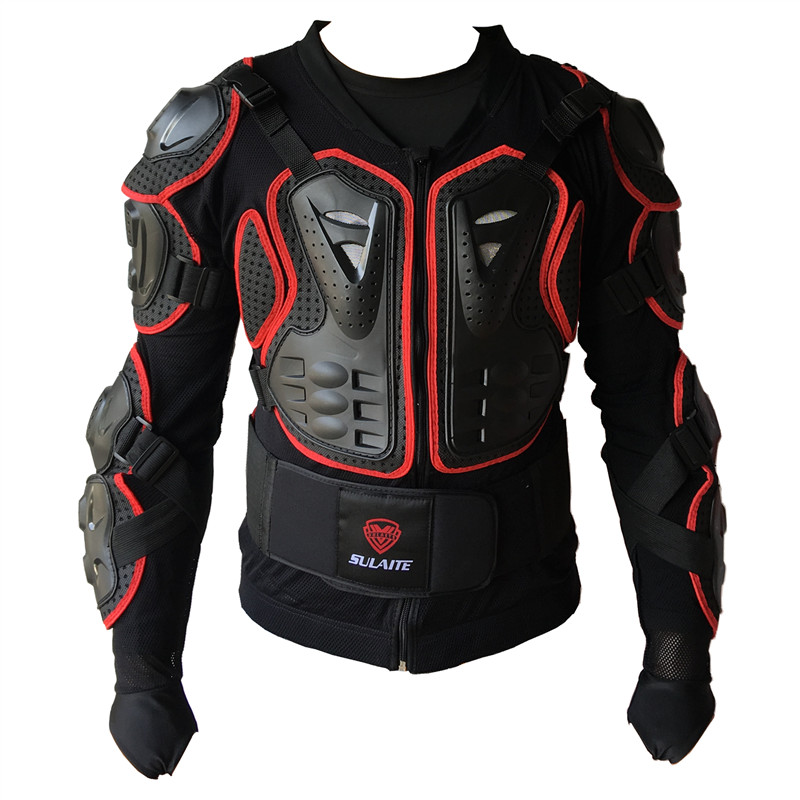 Armure de moto professionnelle armure de vélo croisé solide tissu de Protection S M L XL XXL XXXL taille disponible uni sex