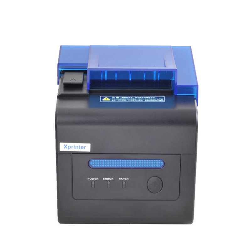 Xprinter 300 mm/s vitesse d'impression 58m & 80mm coupe automatique USB RS232 Lan port POS reçu imprimante support tenture murale haute vitesse