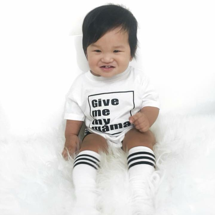 New White Baby Bodysuit Letter2018 Print Bodysuits Jumpsuit Clothes Outfits Baby Short Sleeve Onesie 1st Birthday Tiny Cottons