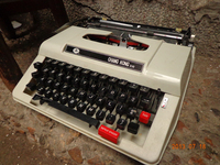 Vintage typewriter model props antique ornaments typing Cafe retro Decor