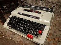 Vintage typewriter model props antique ornaments typing Cafe retro Decor
