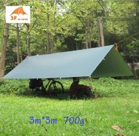 3F UL Gear UV 210T 3 4 Person Beach Sun Shelter Coast Pergola Fishing Awning Sun
