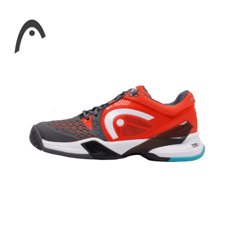 HEAD Man's Tennis Shoes PU Leather Waterproof High Quality Professional Tennis Sneakers For Men Tennis Shoes Gym Training Shoes high quality black boxing shoes men women training shoes sport sneakers professional martial art mma grappling boxing shoes