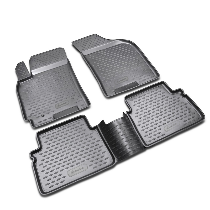 Mats in the salon For CHEVROLET Lacetti 2004->, 4 PCs (polyurethane) mats in salon сртк chevrolet lacetti 04 rubber ch lac 04 g 02033