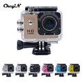 """2.0 """"LCD Câmera de Ação Full HD 1080 P Esporte Camera 140 Graus Wide Angle Lente Filmadora À Prova D' Água Para Esportes Radicais Diving-2828"""