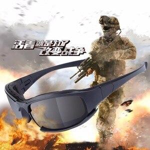 OHANEE X7 العسكرية نظارات رصاصة واقية الجيش النظارات الشمسية 3 عدسة الصيد الرماية الادسنس الدراجات النارية نظارات