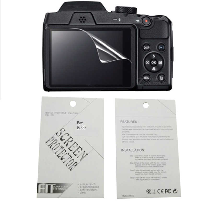 2pieces New Soft Camera screen protection film For Nikon A100 A300 A900 A1000 B500 B600 B700 1 aw1 1 aw130s 1J4 1J5