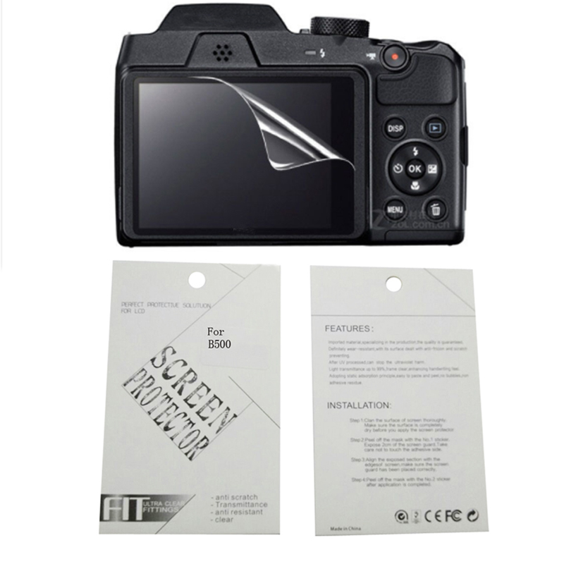 2pieces New Soft Camera screen protection film For <font><b>Nikon</b></font> A100 A300 A900 A1000 B500 B600 <font><b>B700</b></font> 1 aw1 1 aw130s 1J4 1J5 image