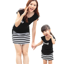 Hot family clothing matching mother daughter dresses family look family set clothes for mother and daughter