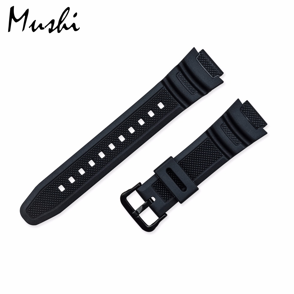 Rubber Strap for Casio PGR-270/ PGR-270-1/ MRW-200H / SGW-500 Silicone Watchband Pin Buckle Strap Watch Wrist Bracelet BlackRubber Strap for Casio PGR-270/ PGR-270-1/ MRW-200H / SGW-500 Silicone Watchband Pin Buckle Strap Watch Wrist Bracelet Black